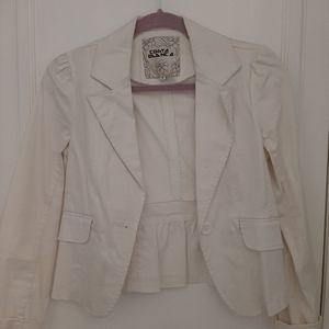 Costa Blanca white blazer Sz 6
